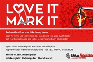 Bike Register Scheme To Visit Academy