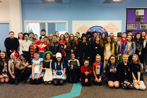 Irlam and Cadishead Academy Go Above And Beyond For World Book Day