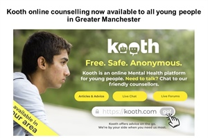 Kooth Online Counselling Now Available